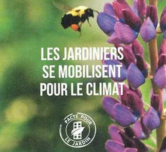 les jardiniers se mobilisent pour le climat